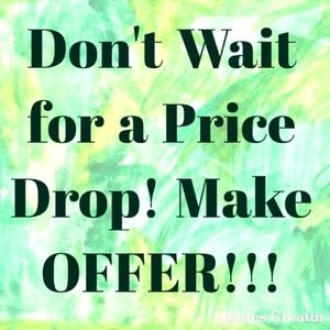 Tops - Don't wait for me to make an offer.